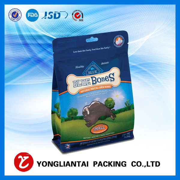 Food grade Cellophane block bottom bags
