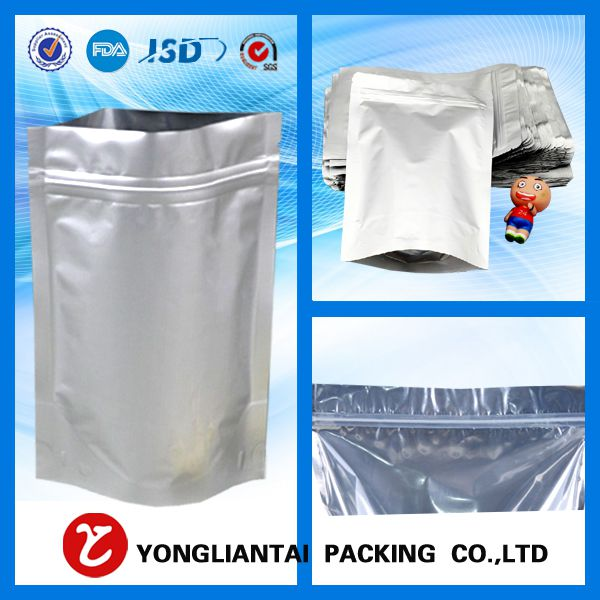 Aluminum foil zip lock bag customized