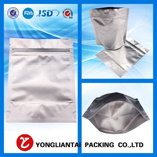 The function of aluminum bags