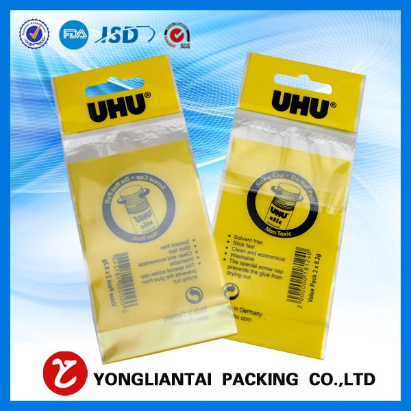 Clear opp plastic packing bags