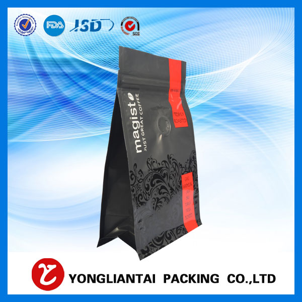 Quad seal coffee bag