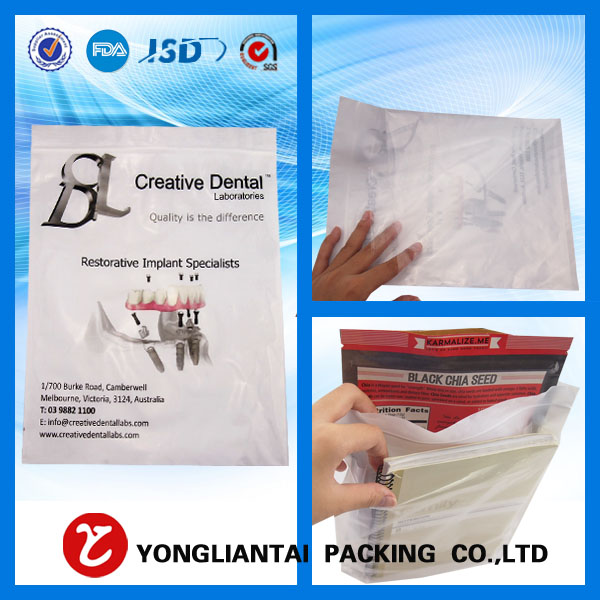 High temperature resistance of plastic packaging bags, the size of the high temperature stability