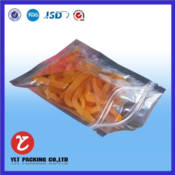 transparent aluminum foil packaging bag