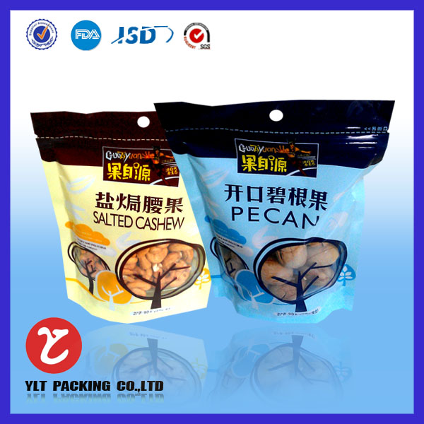 Dry mushrooms stand up pouch