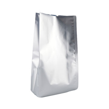Aluminum foil coffee bags with valve