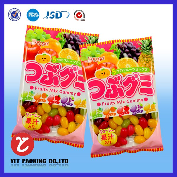 clear candy bags supplier
