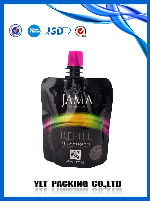 the photo of Promotional beautiful spout pouch