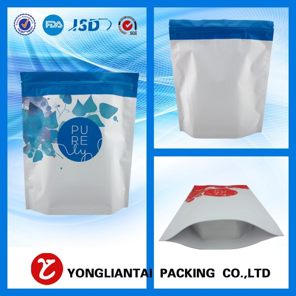 Wholesale Accept Custom Order plastic zipper bag/plastic bag with zipper