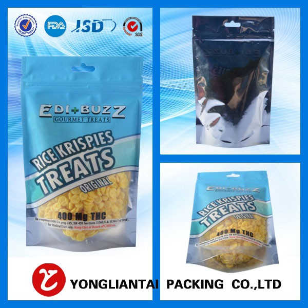 High quality aluminum foil bag,zipper bag for PET food packing ,plastic standing up PET food bags