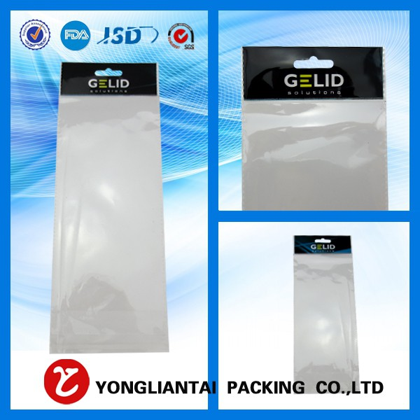 Clear opp plastic packing bags wholesale from China