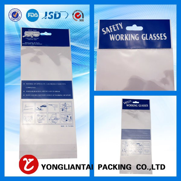 Clear opp cellophane bag customized from China