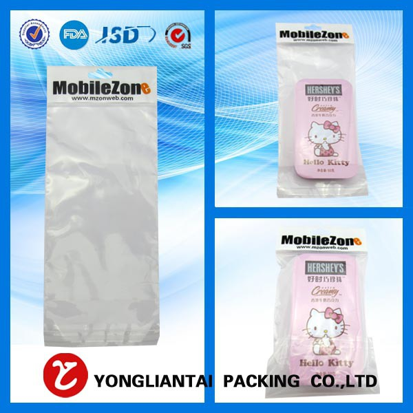 Clear opp self adhesive bag for cards packing wholesale in China