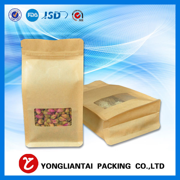 Block bottom bag block bottom packing wholesale beans
