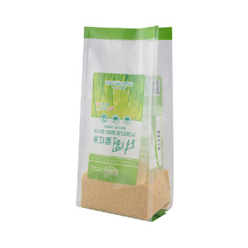 side gusset plastic bag vacuum bag for mung bean